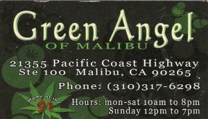 Green Angel Of Mailbu